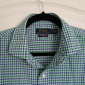 POLO Ralph Lauren Shirt L Mens Performance Nylon
